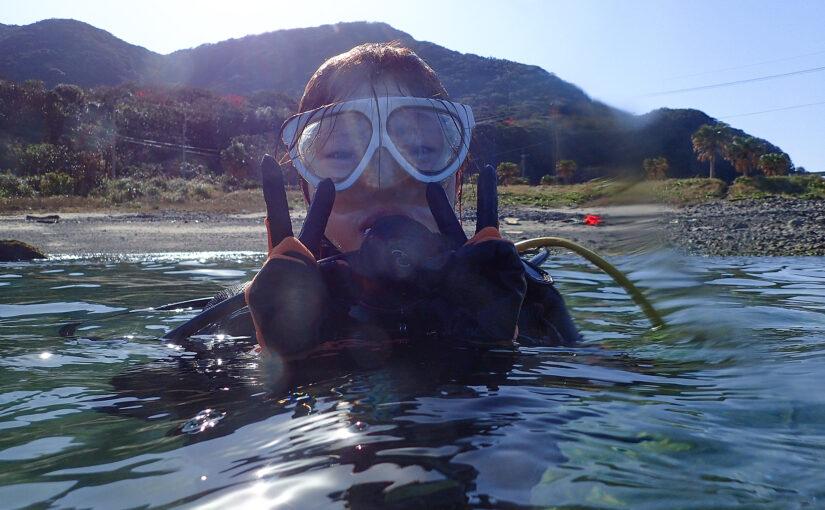 体験ダイビング2ダイブ