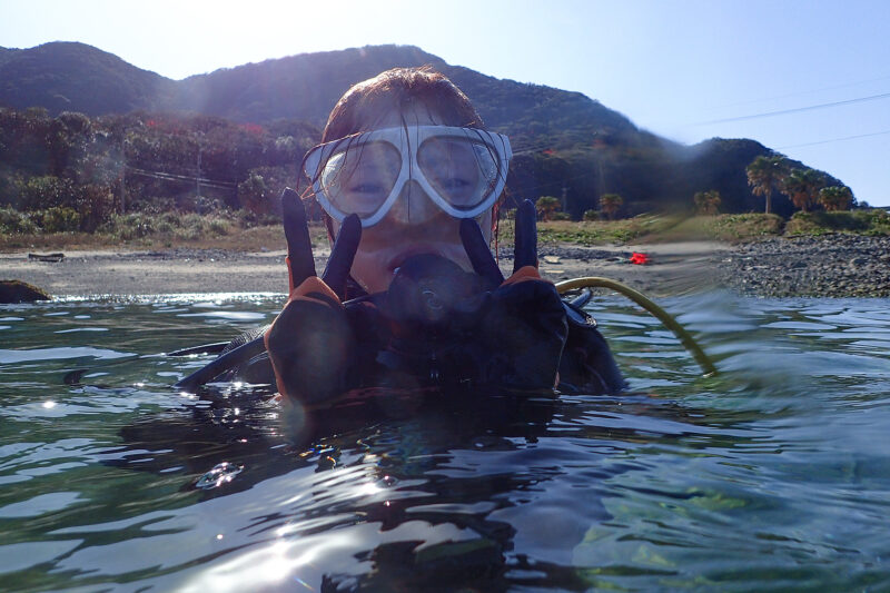 【屋久島・体験ダイビング】じっくり自然観察で、世界遺産の海を満喫!2ダイブ・コース(4.5時間)(No.63)